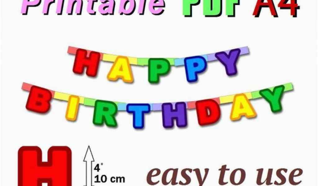 photo about Happy Birthday Banner Printable Pdf referred to as Free of charge Content Birthday Banner Printable Pdf Products and solutions Equivalent toward