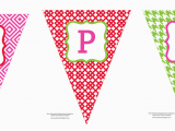 Free Happy Birthday Banner to Print Free Printable Happy Birthday Banner anders Ruff Custom