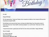 Free Happy Birthday Cards Email 5 Chiropractic Email Marketing Templates
