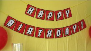 Free Lego Happy Birthday Banner Free Printable Banner Quot Happy Birthday Quot the White Lego