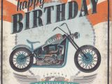 Free Motorcycle Birthday Cards Motorbike Happy Birthday Card Karenza Paperie