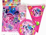 Free My Little Pony Happy Birthday Banner Party Supplies 61pcs Lot My Little Pony theme Happy