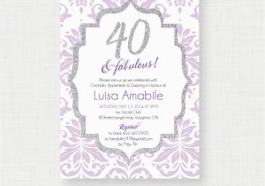 Free Online 40th Birthday Invitation Templates 40th Birthday Invitations 40th Birthday Invitations