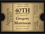 Free Online 40th Birthday Invitation Templates 40th Birthday Party Invitations First Birthday Invitations