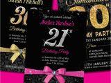 Free Online 40th Birthday Invitation Templates Personalised Birthday Invitations Party Invites 18th