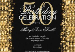 Free Online 50th Birthday Invitation Templates 45 Sample