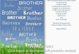 Free Online Birthday Cards for Brother 8 Best Images Of Free Printable Birthday Cards for Brother