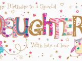 Free Online Birthday Cards for Daughter Daughter Birthday Handmade Embellished Greeting Card