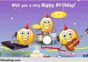 Free Online Birthday Cards Funny Animated the Happy song Free songs Ecards Greeting Cards 123