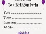 Free Online Birthday Invitations Printable Free Printable Birthday Invitations for Kids