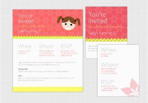Free Online Birthday Invitations To Email 19 Invitation Templates Psd Ai