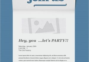 Free Online Birthday Invitations To Email Event Invitation Template