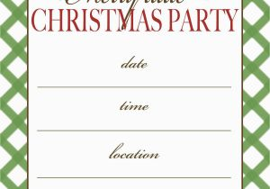 Free Online Birthday Invitations To Email Christmas Party Templates