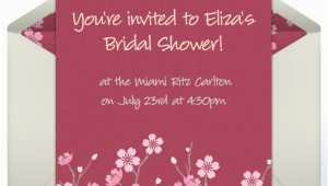 Free Online Birthday Invitations to Email Free Online Invitations for Bridal Showers