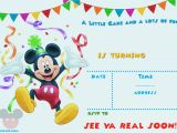Free Online Mickey Mouse Birthday Invitations Free Mickey Mouse 1st Birthday Invitations Bagvania Free