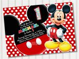 Free Online Mickey Mouse Birthday Invitations Mickey Mouse Invitation Template Free Joy Studio Design