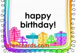 Free Online Printable Birthday Cards No Download