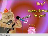 Free Online Singing Birthday Cards Singing Birthday Cat Free songs Ecards Greeting Cards