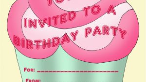 Free Personalized Birthday Invitations Printable Personalized Birthday Invitations for Kids 1st