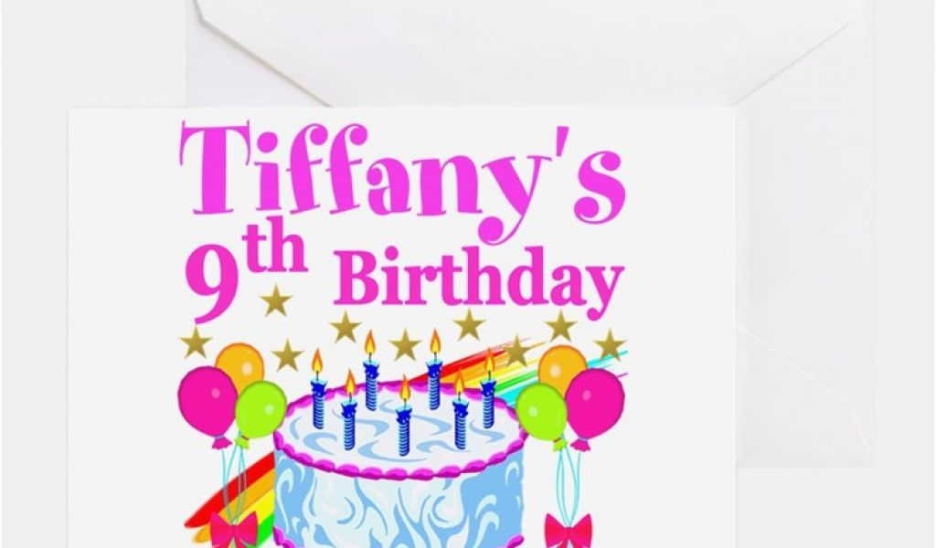 Free Personalized Video Birthday Cards 9 Year Old Greeting