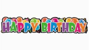 Free Picture Of Happy Birthday Banner Happy Birthday Giant Jointed Banner Walmart Com