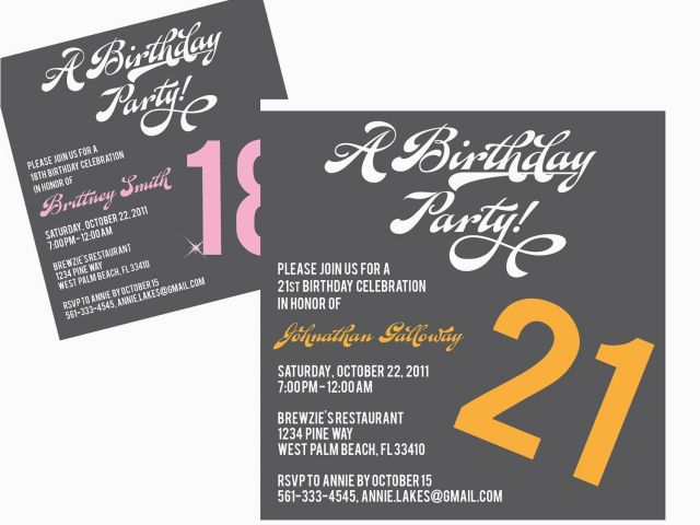 Download By SizeHandphone Tablet Desktop Original Size Back To Free Printable 18th Birthday Invitations