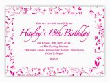 Free Printable 18th Birthday Invitations Birthday Invites 18th Birthday Invitations Templates Free