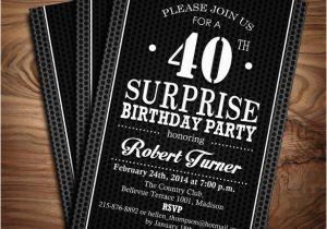 Free Printable 40th Birthday Invitations 24 40th Birthday Invitation Templates Psd Ai Free