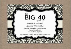 Free Printable 40th Birthday Invitations 40th Birthday Ideas 40th Birthday Invitation Templates