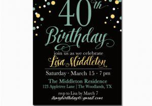 Free Printable 40th Birthday Invitations Free Birthday Invitation Downloads Safero Adways