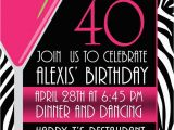 Free Printable 40th Birthday Invitations Pictures Of Stylish Women for 40th Birthday Invitation