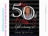 Free Printable 50th Birthday Invitations the 50th Birthday Invitation Template Free Templates