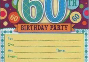 Free Printable 60th Birthday Cards Invitations Bagvania
