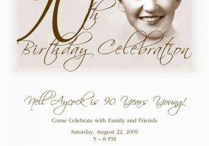 Free Printable 90th Birthday Invitations Party Invitation Granny Turns 90