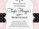 Free Printable Adult Birthday Invitations Adult Chandelier Birthday Invitation Printable Any