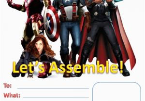 Free Printable Avengers Birthday Party Invitations 7 Best Images Of