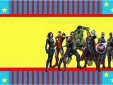 Free Printable Avengers Birthday Party Invitations Avengers Free Printable Invitations Oh My Fiesta In