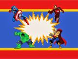 Free Printable Avengers Birthday Party Invitations Avengers Free Printable Kit Oh My Fiesta In English
