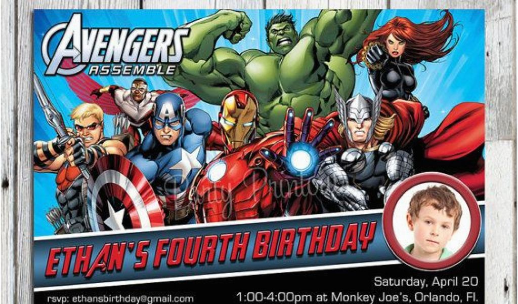 Download By SizeHandphone Tablet Desktop Original Size Back To Free Printable Avengers Birthday Party Invitations