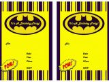 Free Printable Batman Birthday Cards 9 Awesome Batman Birthday Invitations Kitty Baby Love