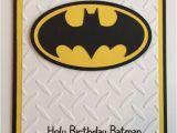 Free Printable Batman Birthday Cards Handmade Batman Birthday Card