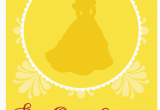 Free Printable Beauty and the Beast Birthday Invitations Free Beauty and the Beast Printables for Birthday Parties