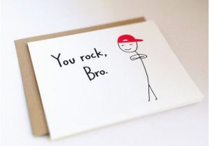 Free Printable Birthday Cards For Brother Funny Card Humorous Friend Thank You