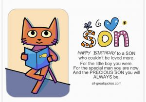 Free Printable Birthday Cards for My son Beautiful Collection Of son Poems