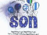 Free Printable Birthday Cards for My son Happy Birthday to My son Pictures Photos and Images for