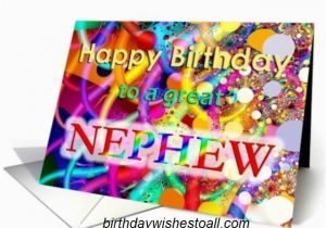 Free Printable Birthday Cards For Nephew Happy Wishes