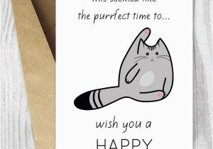 Free Printable Birthday Cards Funny Cat
