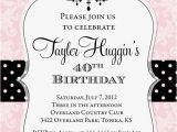 Free Printable Birthday Invitations for Adults Adult Chandelier Birthday Invitation Printable Any