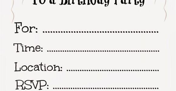 Free Printable Birthday Invitations for Kids Parties Free Printable Birthday Invitations for Kids