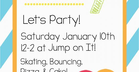 Free Printable Birthday Invites for Kids Free Printable Birthday Invitation Templates